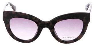 Zac Posen Jacqueline Cat-Eye Sunglasses