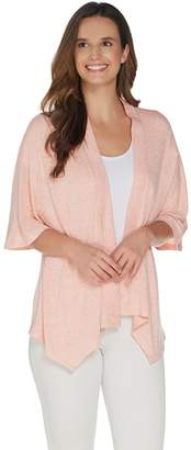 Halston H By H by Super Soft Kimono Open-Front Cardigan