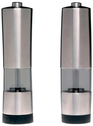 Berghoff Geminis Stainless Steel Electronic Salt & Pepper Mill Set