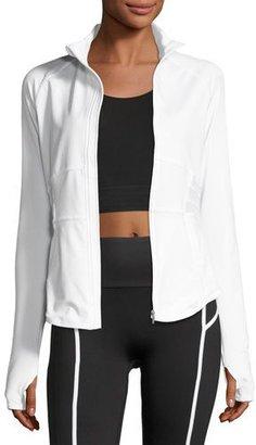 Puma PWRShape Performance Jacket, White $100 thestylecure.com