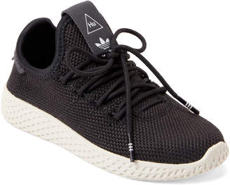 adidas Toddler/Kids Boys) Carbon Pharrell Williams Tennis Knit Sneakers