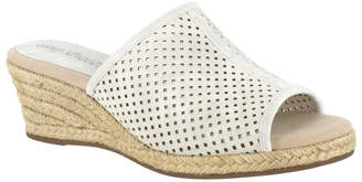 Easy Street Shoes Mandy Espadrille Slide Sandals Women Shoes