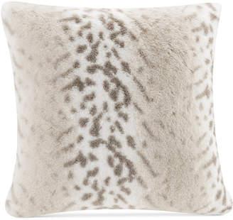 "Serengeti Madison Park Signature 20"" Square Faux-Fur Decorative Pillow"