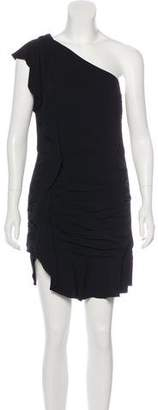Veronica Beard Kingston One-Shoulder Dress w/ Tags