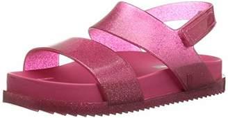 Mini Melissa Girls' Mini Cosmic Sandal Flat,6 Medium US Toddler