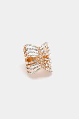 Ardene Ornate Caged Ring