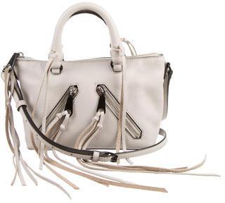 Rebecca Minkoff Pebbled Leather Mini Satchel $110 thestylecure.com