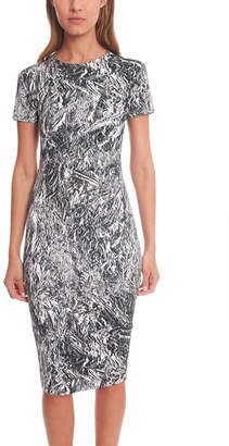 McQ Cap Sleeve Dress