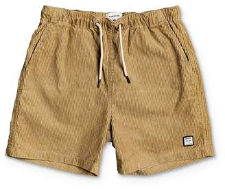 Quiksilver Boys' Wax Out Corduroy Shorts - Big Kid