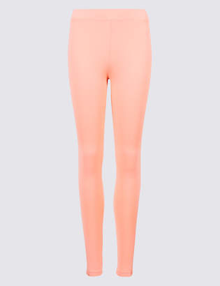 M&S Collection Lace Insert Skinny Leg Leggings