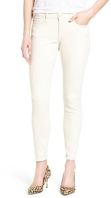 Women's Mavi Jeans 'Alexa' Frayed Ankle Skinny Jeans $98 thestylecure.com