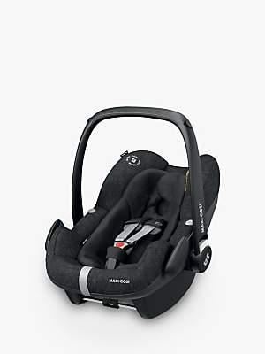 Maxi-Cosi Pebble Plus i-Size Group 0+ Baby Car Seat, Nomad Black