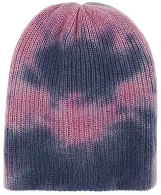 The Elder Statesman Women's Tie-Dyed Cashmere Watchman's Cap