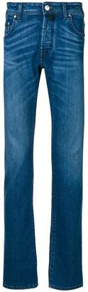 Jacob Cohen handkerchief straight-leg jeans