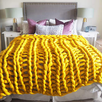 Lauren Aston Designs Digby Chunky Hand Knitted Throw