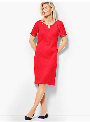 Talbots Grosgrain-Trim Dress