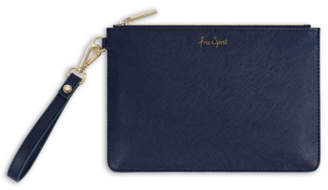 Katie Loxton SECRET MESSAGE POUCH | FREE SPIRIT, THE WORLD IS YOUR OYSTER