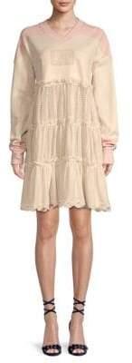 FENTY PUMA by Rihanna Hockey Baby Doll Shift Dress