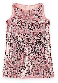 Milly Kids' Paillette-Embellished Tulle Dress - Pink