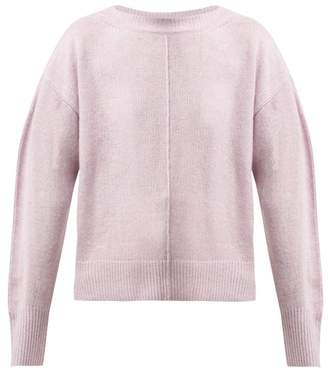 Isabel Marant Calice Cashmere Sweater - Womens - Light Pink