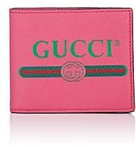 Gucci Men's Logo Leather Billfold - Pink