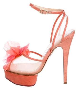 Charlotte Olympia Leila Platform Sandals