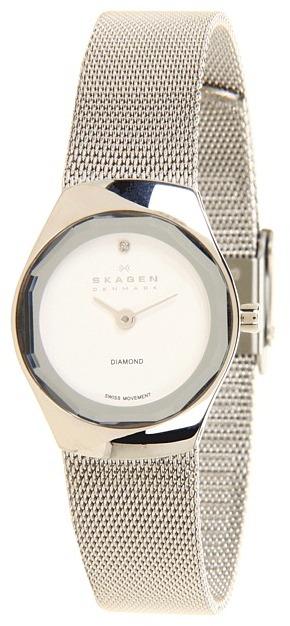 Skagen 432SSSS Quartz Stainless Steel Watch (Silver) - Jewelry