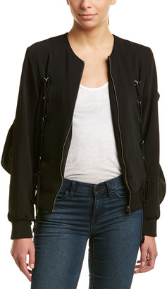 Lea & Viola Lace-Up Jacket
