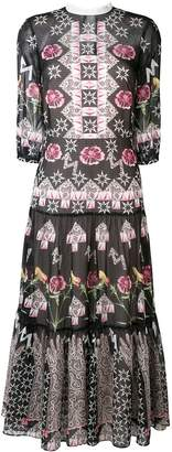 Temperley London Flux printed midi dress