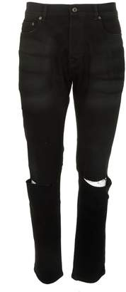 Valentino Distressed Detailed Skinny Jeans