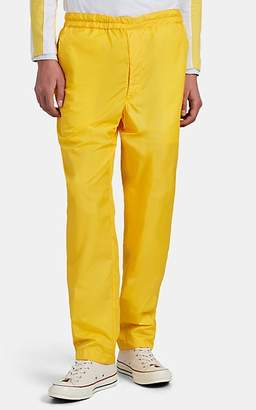 Comme des Garcons BOY Men's Striped Jogger Pants - Yellow