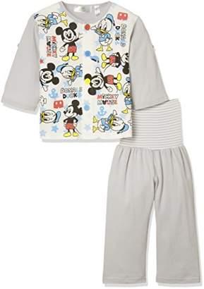Disney (ディズニー) - [ディズニー] DBミッキー長袖練習パジャマ ボーイズ 331107710 グレー 日本 95 (日本サイズ95 相当)