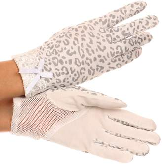 Sakkas CMZG-1 - Annie wrist length antique look femminine assorted stretch glove with lace - OS
