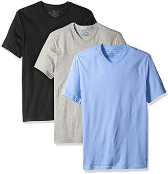 Tommy Hilfiger Men's Undershirts 3 Pack Cotton Classics Slim Fit V-Neck T-Shirt
