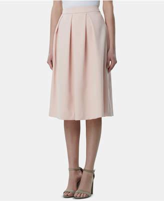 8ba59a2748 Petite Pleated Midi Skirt - ShopStyle