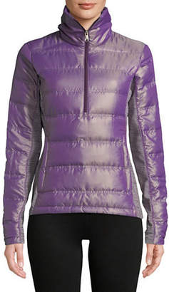 Spyder Solitude Quilted Half-Zip Jacket