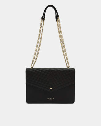 Ted Baker KALILA Leather envelope cross body bag