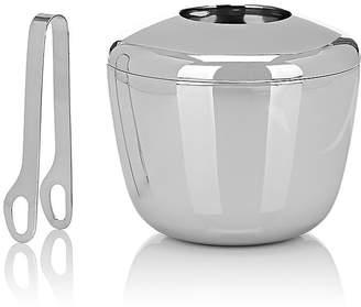 Georg Jensen Sky Stainless Steel Ice Bucket & Tongs