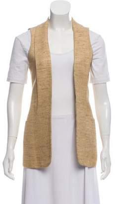 Smythe Tweed Open Front Vest