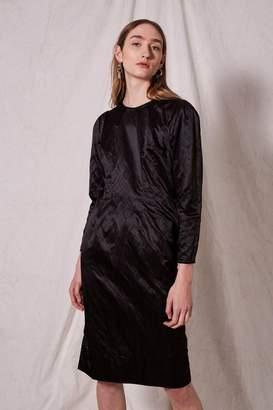 Topshop Rigid Crinkle Shift Dress by Boutique