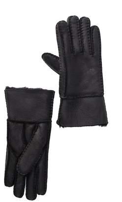 Surell Genuine Sheepskin Shearling Lined Glove