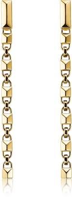 Michael Kors Mercer Link 14K Gold Plated Sterling Silver Linear Earrings