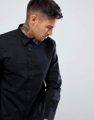 Diesel S-Bill Slim Fit Logo Shirt