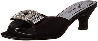 Annie Shoes Women's KARIN Slide Sandal $65 thestylecure.com