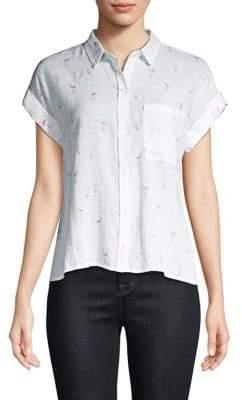 Rails Whitney Flamingos Shirt