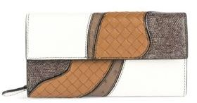 Bottega Veneta Bottega Veneta Continental Leather Flap Wallet