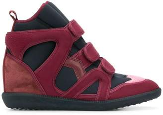 90f57ee5eb57 Isabel Marant Buckee wedge sneakers