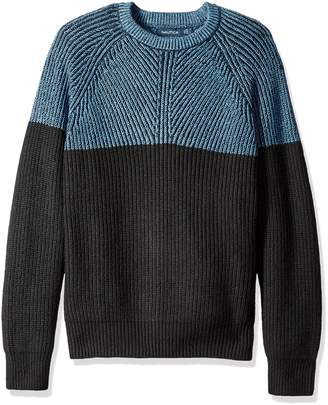 Nautica Men's Color-Blocked Sweater