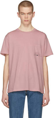 Levi's Levis Made and Crafted Pink Sun Pocket T-Shirt