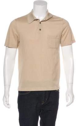 Hermes Piqué Polo Shirt
